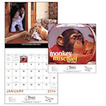 Monkey Mischief Wall Calendars
